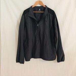 Men's pullover golf jacket